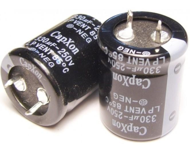 Конденсатор 330mkF x 250V