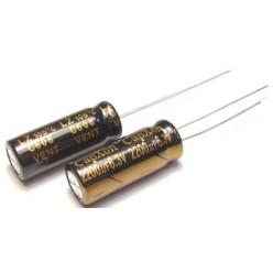 Конденсатор 2200mkF x 6,3V 105*С комп.
