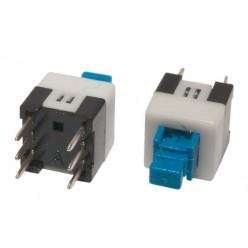 Кнопка миниатюрная с фиксацией PS-700-L 6 pin (OFF - ON)