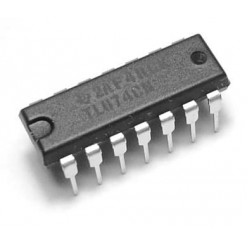 Микросхема TL074CN