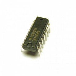 Микросхема TC4066BPdip (К561КП3)