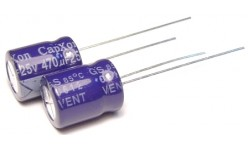 Конденсатор 470mkF x 25V 105*C комп.