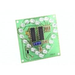 Радиоконструктор K203 (светодиодное сердце,бегущий огонь)