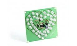 Радиоконструктор K204 (светодиодное мигающее сердце)