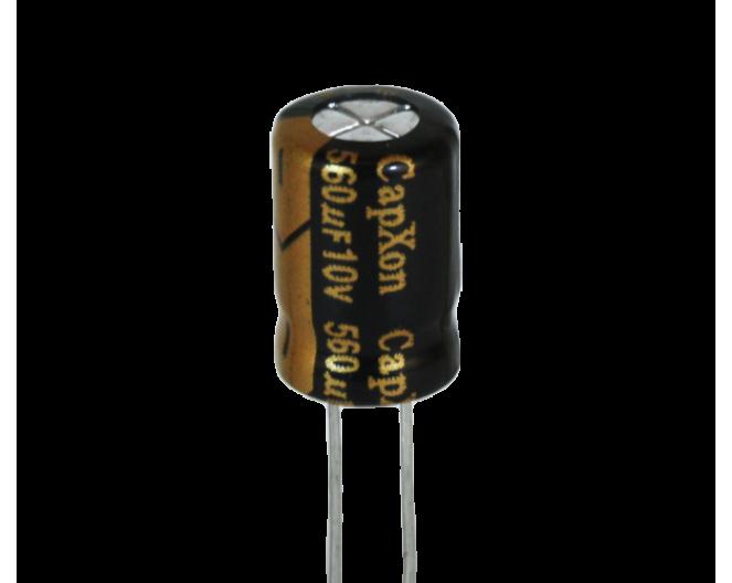 Конденсатор 560mkF x 10V 105*C комп.
