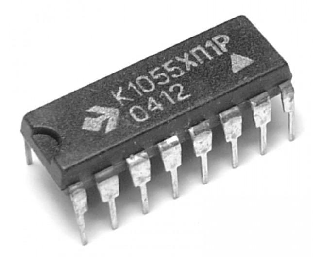 Микросхема К1055ХП1Р (L497B)
