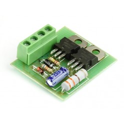 Радиоконструктор K134 (устройство плавного включения ламп)