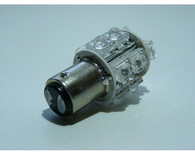 Автомобильная светодиодная лампа 1157P (21/5W) 18 Dip Led Белая
