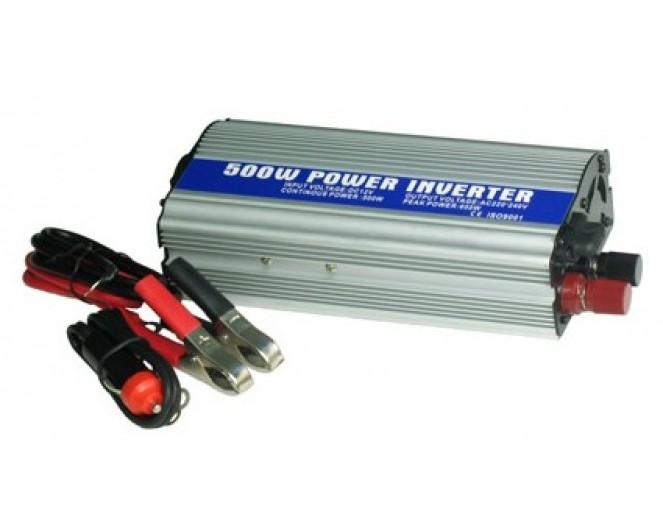 Автомобильный Инвертор 12V / 220V 500W EG-PWC-003