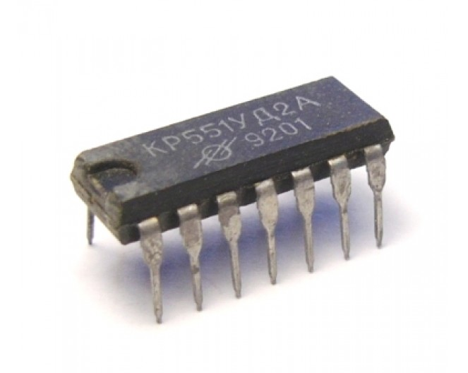 Микросхема КР551УД2А