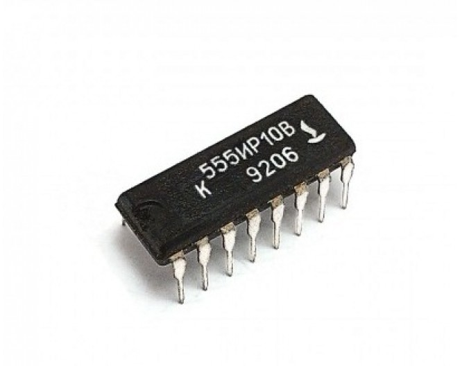Микросхема К555ИР10В