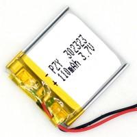 Аккумулятор 3,7v 110 mAh (размер 23x23x2mm)