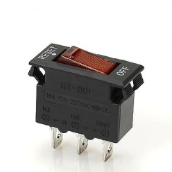 Автоматический предохранитель-выключатель KGZ-06-16A (16А, 250V)