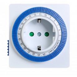 Розетка с механическим таймером (96вкл/выкл в сутки) Smartbuy