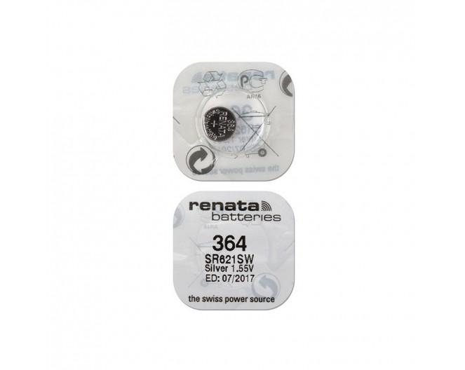 Батарейка 1,5V G1   (LR621, 364, 164) Renata