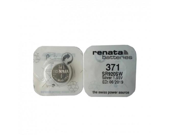 Батарейка 1,5V G6   (LR920, 371, 171) Renata