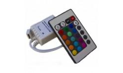Контроллер светодиодной RGB ленты 6А с пультом