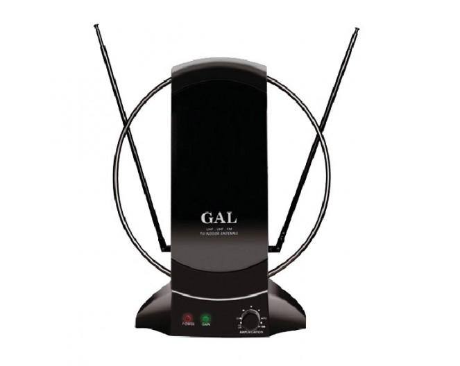 Антенна комнатная с усилителем сигнала GAL AR-468AW