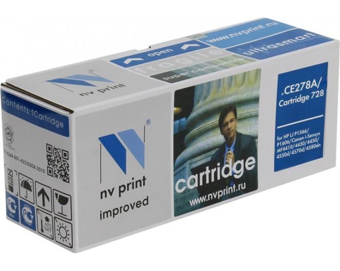 Картридж NV-Print [728] для Canon MF4410/4430/4450/4550D/F4570DN/4580DN (3500B002)