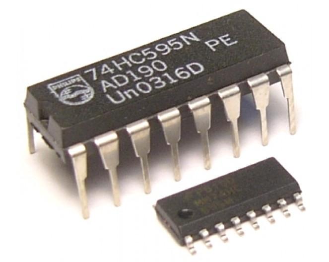 Микросхема 74HC595N