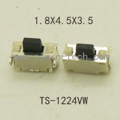 Микрокнопка 1,8*4*3,5 (2PIN) боковые выводы