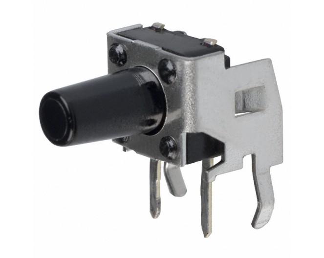 Кнопка тактовая 6x6х9,5 угловая с кронштейном