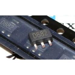 Транзистор 2SD882 (sot23)