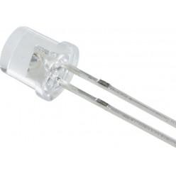 светодиод Белый 5мм цилиндрический