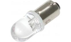 Автомобильная светодиодная лампа BA9S, 1pcs Белая