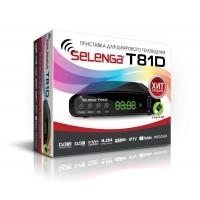 Цифровой ресивер DVB-T2/DVB-C SELENGA T81D