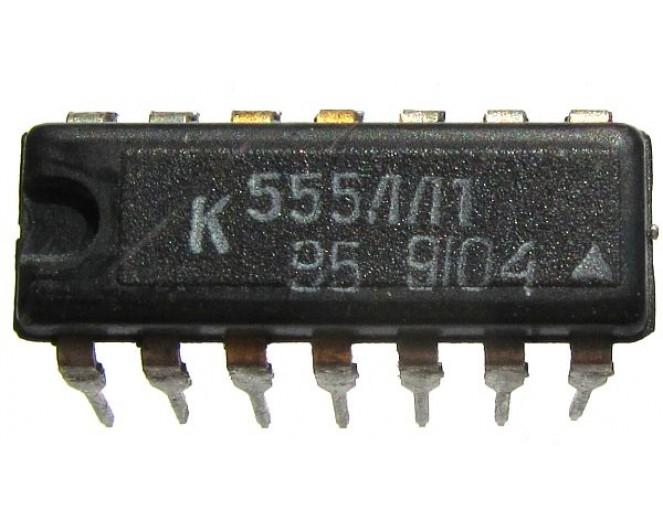 Микросхема К555ЛЛ1