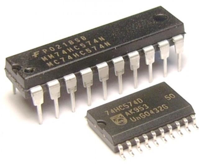 Микросхема 74HC574D
