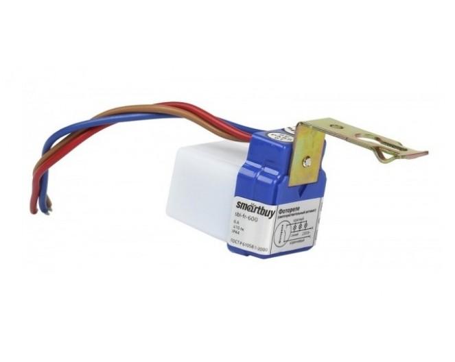 Датчик освещенности 6А Smartbuy