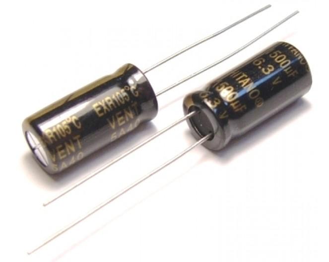 Конденсатор 1500mkF x 6,3V 105*С комп.