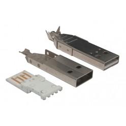 Штекер USB AM (3719) на провод