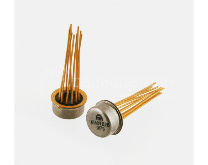 Микросхема 140 УД 1,2,5 мет
