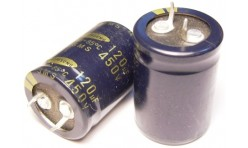 Конденсатор 120mkF x 450V 105*C