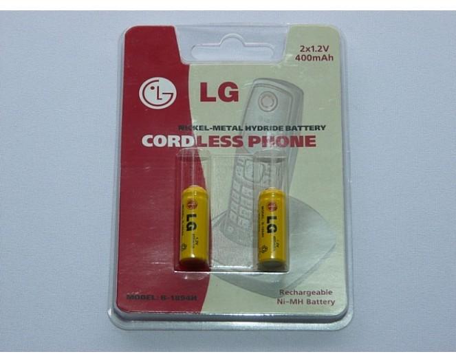 Аккумулятор для радиотелефона LG B-1894H 2/3 AAA (1,2v 400mA - 2шт)