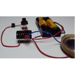 Радиоконструктор 012 - Музыкальный звонок на 3 мелодии
