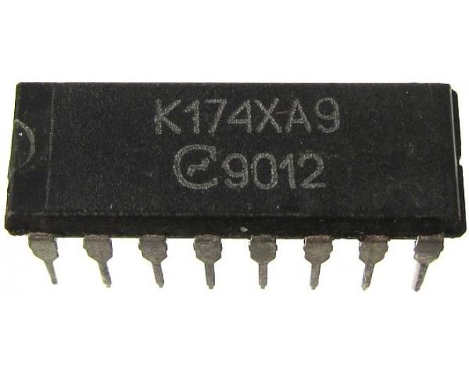 Микросхема К174ХА9  (MCA640, TCA640)