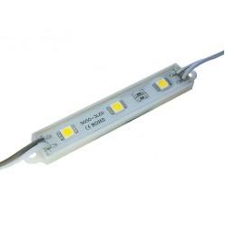 Светодиодный модуль белый холодный (3 led, 0,72w )