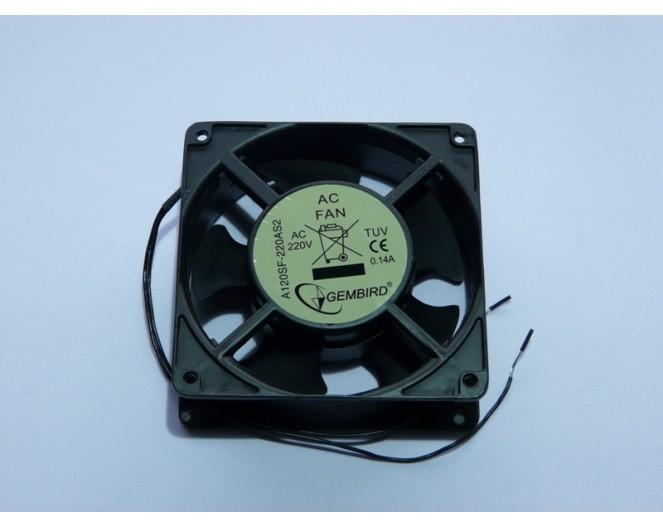 Вентилятор 220V 120x120x38 Gembird A120ST-220AS2