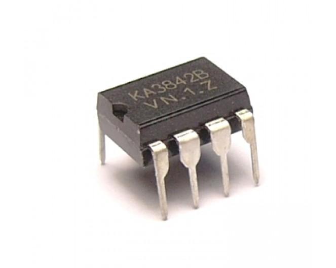 Микросхема KA3842B (UC3842BN)