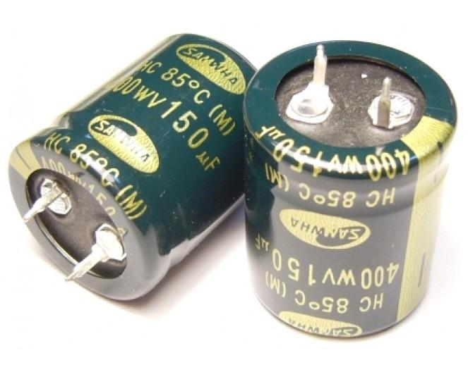 Конденсатор 150mkF x 450V 105*C