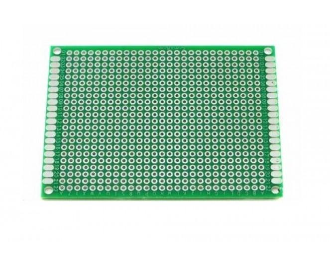 Макетная плата двухсторонняя 50x70 мм