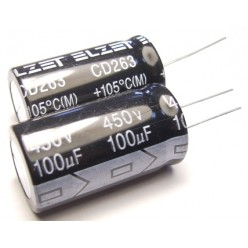 Конденсатор 100mkF x 450V гибкие выводы