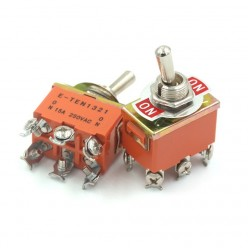 Тумблер 6 PIN (ON-ON) 250V 15A RWC-508_NN