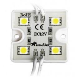 Светодиодный модуль белый холодный (4 led, 1,44w )