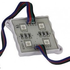 Светодиодный модуль RGB (4 led, 1,44w )