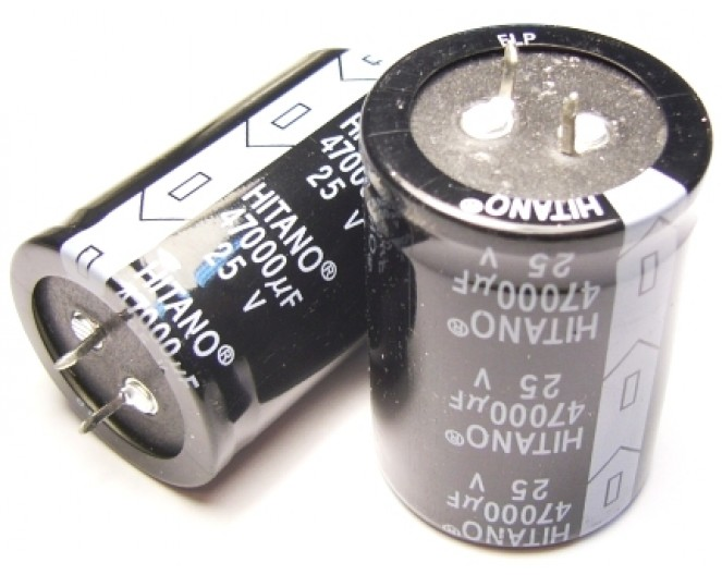 Конденсатор 47000mkF x 25V